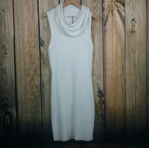 Alice + Olivia sleeveless cowl neck sweater dress